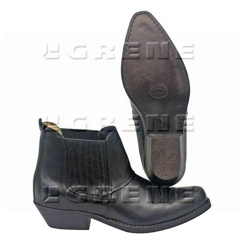 Buty kowbojki krótkie czarne roz. 39