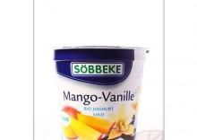 Sobbeke: jogurt mango/wanilia BIO - 150 g