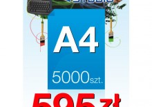 Ulotki A4 - 5000 sztuk