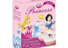 Zestaw do pieczenia babeczek Księżniczki Disney 224g