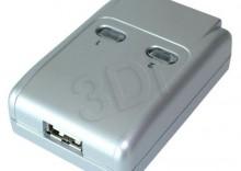 PRZEŁĄCZNIK DRUKARKOWY USB 2.0 AUTO 2PC -> 1 URZĄDZ- produkt DOSTĘPNY i natychmiastowa TANIA wysyłka