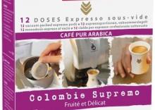 Kawa w saszetkach Malongo Colombie Supermo 12 szt