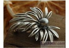 SYRIA 2 - broszka z perłą