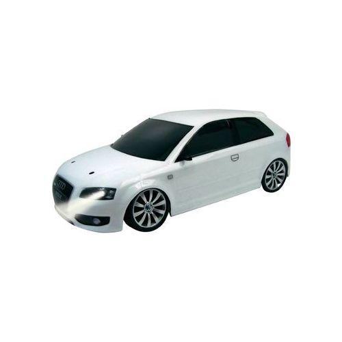 Karoseria Audi S3 biała w skali 1:10 z oświetleniem RTR