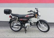 Motorower ZIPP Toros WJ50 (EL CLASICO) Czarny (kufer, 2014) + DARMOWA DOSTAWA