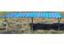 Składany, bardzo mocny stół do handlu długość ok. 2,5m + wąski blat