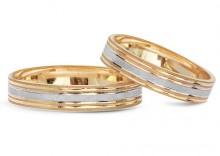 Złote Obrączki Ślubne Verona by Yes wzór 506