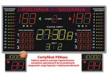 Tablica do Hal Sportowych K&G TZG-1800FG