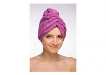 Turban-ręcznik fioletowy