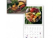 Kalendarz ścienny, wieloplanszowy 2013. Gourmet