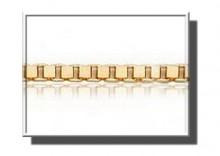 ZAA0001 | Łańcuszek z żółtego złota 585 WENECJANA 45cm