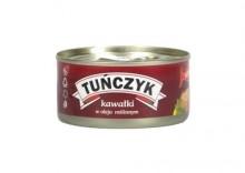 GRAAL 170g Tuńczyk w kawałkach w oleju
