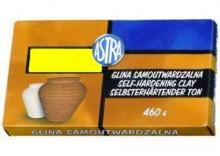 GLINA SAMOUTWARDZALNA 0,46 KG - żółta
