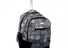 Plecak szkolny na kółkach, młodzieżowy