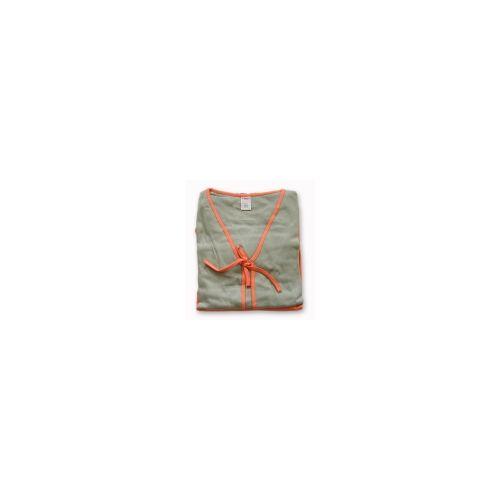 Piżamka 3 częściowa Muzzy oliwka pomarańcz M
