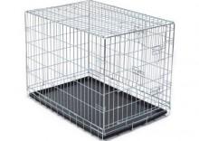 Klatka do transportu psa- Dł. x szer. x wys.: 92 x 62 x 69 cm, dwudrzwiowa