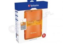 Verbatim Store n Go USB 3.0 Portable Hard Drive 1TB pomarańczowy