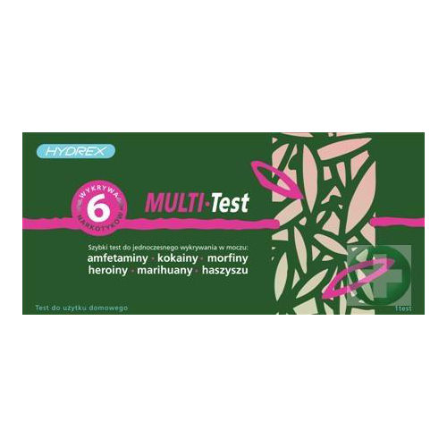 Multi Test - test do wykrywania narkotyków w moczu 1szt