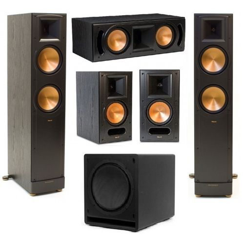 zestaw klipsch rf 82 ii rc 62 ii rb 61 ii sw 115. Black Bedroom Furniture Sets. Home Design Ideas