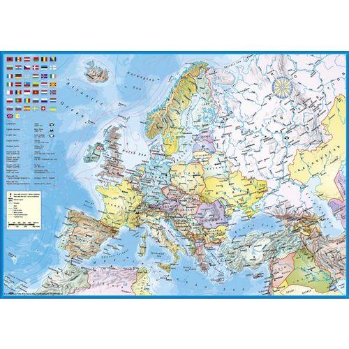 Schmidt 1000 El Polityczna Mapa Europy