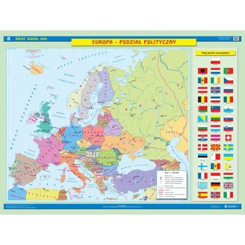 Europa Podzial Polityczny Polska W Europie Mapa Scienna
