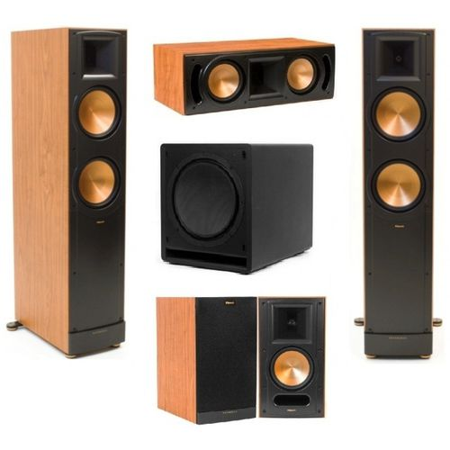 zestaw klipsch rf 82 ii rc 62 ii rb 61 ii sw 112. Black Bedroom Furniture Sets. Home Design Ideas