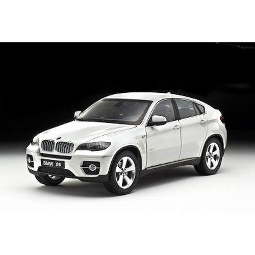 Bmw X6 Xdrive50i: 1:18 KYOSHO BMW X6 XDrive50i White