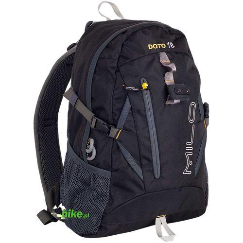 b1644162d6753 plecak turystyczny Milo Doto 18 czarny