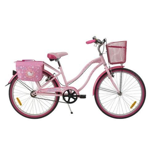 Rower Miejski Hello Kitty Cruiser Flowers 24 Różowy