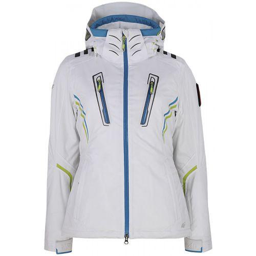 T4Z12 KUDN100] Kurtka narciarska damska KUDN100 biały