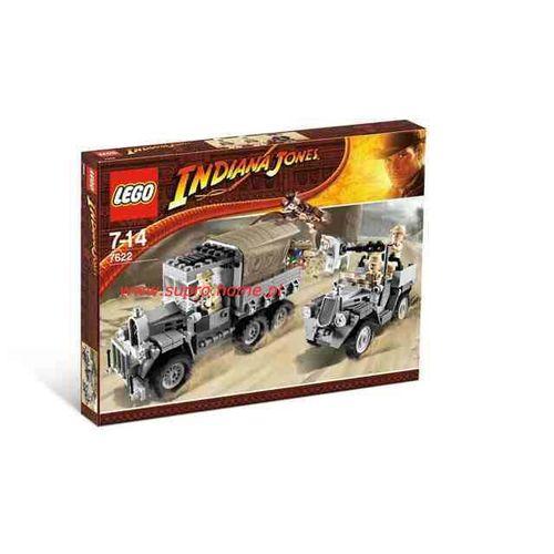 Klocki Lego Indiana Jones Wyścig Po Skradziony Skarb 7622